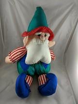 "Tb Trading Co Nylon Santa Claus Elf Jester Plush Doll 28"" Stuffed Animal... - $29.95"