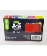 Pen & Gear Poly A-Z Index Card Guides - 25 pc - $8.99