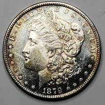 1879S MORGAN SILVER $1 DOLLAR Coin Lot# 519-19
