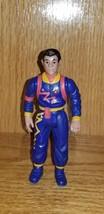 Vintage Real Ghostbusters Winston Zeddemore Power Pack Heroes Figure 198... - $10.00