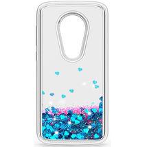 Dynamic Liquid Glitter Quicksand Bling Case Cover For Motorola Moto E5 P... - $8.00