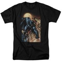 Bat Man T-shirt comic book cartoon DC modern art black superhero tee DCR100 image 2