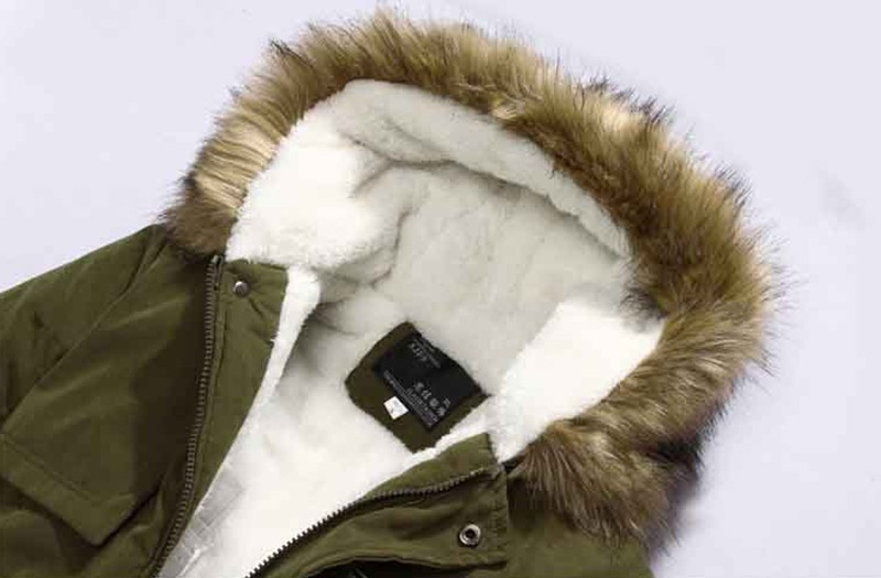 2018 New Style Men Parka Winter Coats Casual Fashion Mens Winter Jackets Stand C