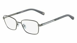 NEW NINE WEST NW 1073 033 Gunmetal Eyeglasses 52mm with Crystals & Case - $59.35