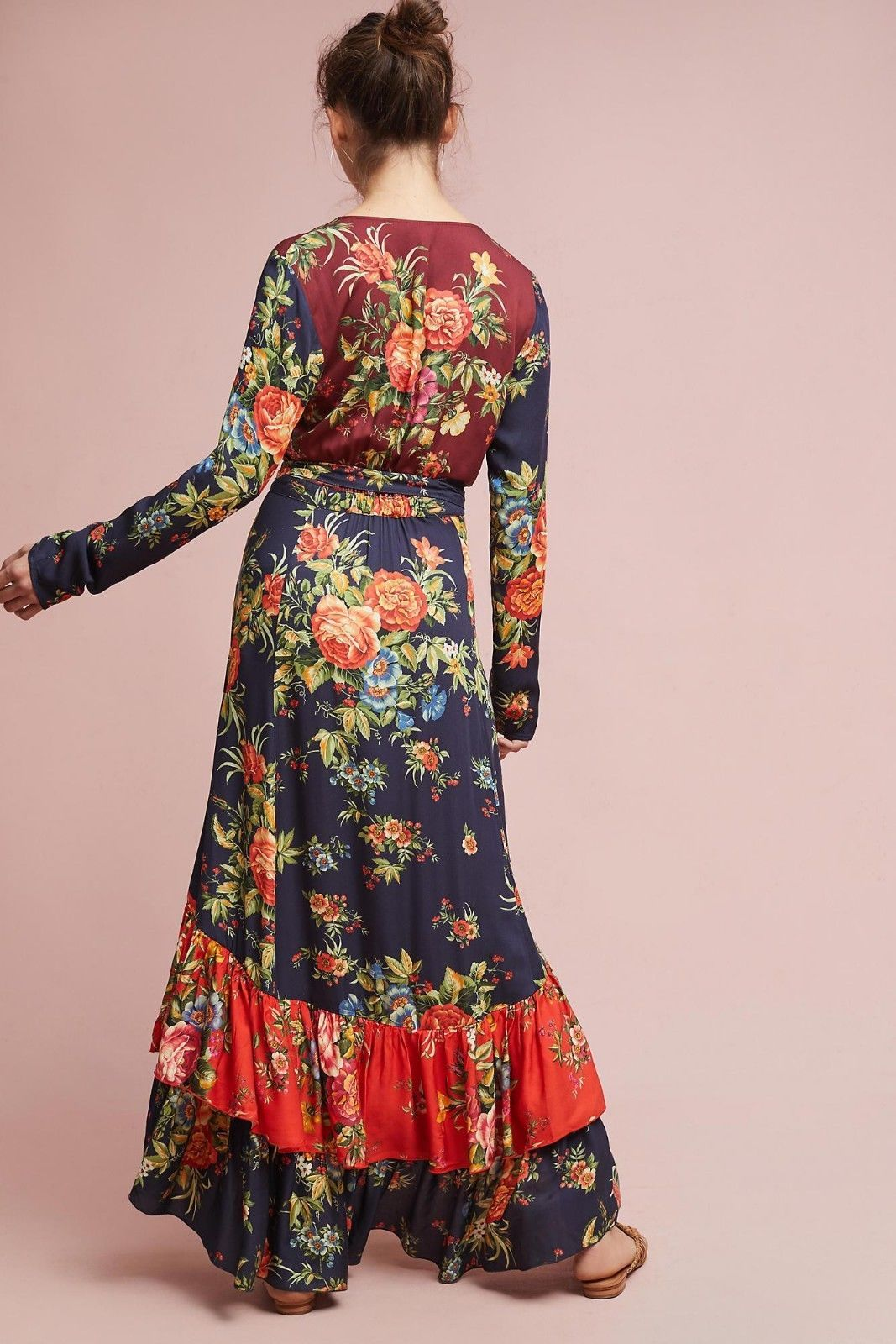 Anthropologie Farm Rio Audrey Wrap Dress $228 Sz XS, XSP - NWT