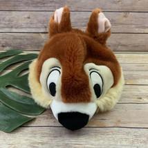 Disney Parks Chip Plush Hat Youth Size Chipmunk Stuffed Animal Rescue Ra... - $16.82