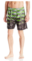 Speedo Mens Green Hydrovolley with Compression Jammer Swim Trunks Shorts... - $59.99