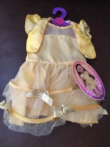 My Life Gold Tulle  Dress Fits  18 Inch Doll NEW - $24.74