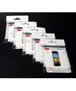 3M Microfiber Electonics Cleaning Cloths 5 Ct. Reusable Phone Tablet Cam... - $12.99