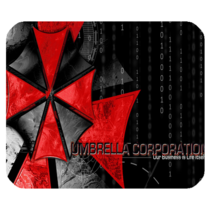 Mouse Pad New Hot Logo Umbrella Corporation Resident Evil Anime Gaming Fantasy  - $9.00