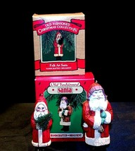 Hallmark Handcrafted Ornaments Old Fashioned Christmas Santa Ornament AA-191783 image 1