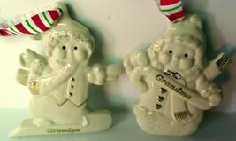 Lenox Grandma and Grandpa Bone China Ornament Set - $19.75