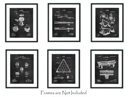 """6 Billiards Patent Wall Art Prints - 8""""x10"""" - Gift Snooker Pool Player Game Room - $18.95"""