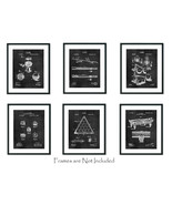 "6 Billiards Patent Wall Art Prints - 8""x10"" - Gift Snooker Pool Player Game Room - $18.76"