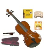 Crystalcello 1/32 Size Violin+Case+Bow+2 Sets Strings+2 Bridges+PitchPipe - $59.99
