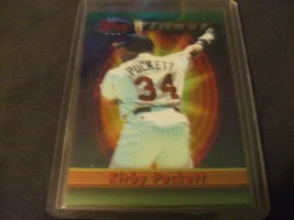 1994 Topps Finest #204 Kirby Puckett -Minnesota Twins- - $3.12
