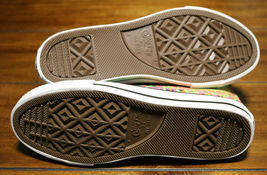 Converse Chuck Taylor All Star Zipback 649963C Black Pink Green Shoes Girls Sz 5 image 12