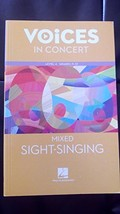 Hal Leonard Voices in Concert, Level 4 Mixed Sight-Singing Book (EXPERIE... - $10.99