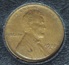 1920-S Lincoln Wheat Back Penny EF #990 image 2