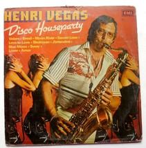 Henri Vegas Disco Houseparty Vinyl Lp,Pressed In India Record OST EMI Re... - $22.94