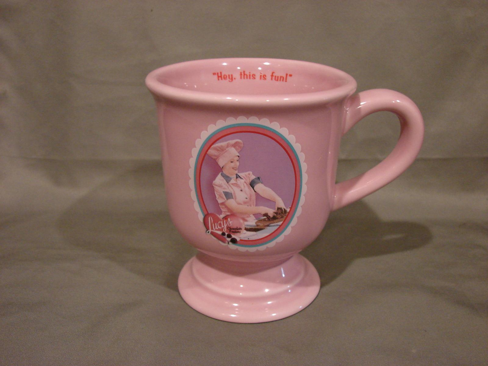 I Love Lucy 12oz Coffee Mug w// Gift Box  Lucille Ball Red Heads