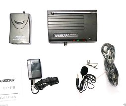Wireless Bodypack Lavalier Microphone Mike Mic System with Clip Lapel 1/... - $58.41