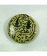 Lumber & Sawmill Workers AFL 1950 Union Pin Button Willamette Valley D.C... - $15.97