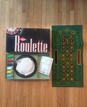 Vintage 1941 E.S. Lowe Roulette #907- complete and unused boxed set image 1