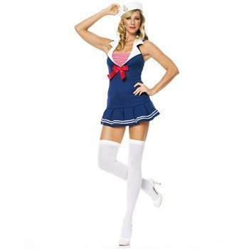 Sailor Cadet Adult Costume - X-Small