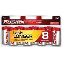 Rayovac 813-8LTFUSJ Fusion Long-Lasting Alkaline Batteries (D, 8 Pk) - $34.25