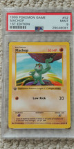 Pokemon Machop 52/102 1st Edition Base Set PSA 9 1999 Pokemon Game Shado... - $34.99