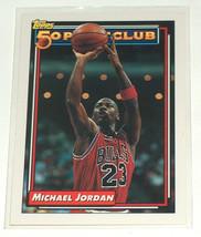 1993 Topps #205 50 Point Club Michael Jordan Chicago Bulls Basketball Ca... - $9.28