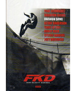 FKD Skateboarding High Velocity Bearings DVD Daewon Song Very Clean Disc... - $19.85
