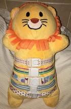 "Bucklyboo Plush Stuffed Orange Lion 18"" VHTF Award Winning Developmental... - $34.64"