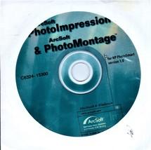 PhotoImptessions & PhotoMontage Software CD for Mac/Windows - $6.00