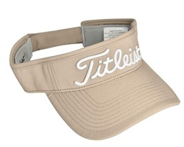 NEW! Titleist 'PRO V1' 'FJ' Men-Women's Tour Performance Golf Visor-Beig... - $44.43