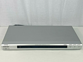 Sony DVD Player DVP-NS50P DVD CD Player Gray LCD Display With Remote - T... - $14.85
