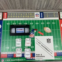 NFL Board Game Quarterback Football VHS 1986 Footage Officially Licenses - $12.25