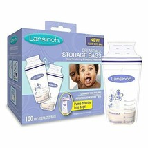 Lansinoh Breastmilk Storage Bags BPA and BPS Free Patented Strongest Lar... - $23.95