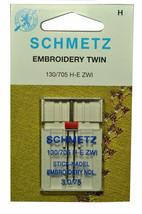 Schmetz Sewing Machine Twin Embroidery Needle 1737 - $7.16