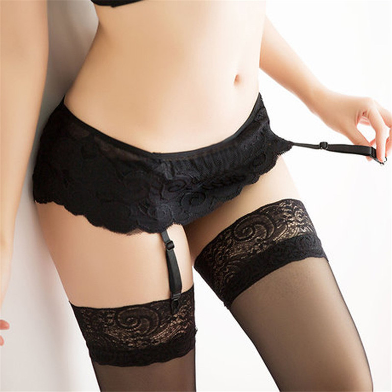 Women's Stockings, garters Suspender Dual Layer