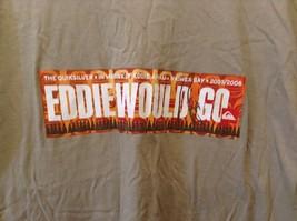Quicksilver Eddie Aikau Big Wave International T-Shirt Sz LG