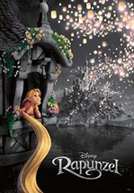 1000 Piece Jigsaw Puzzle Rapunzel on the Tower Light for the Future Disney JAPAN - $131.00