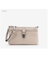 MICHAEL KORS Mercer Medium Cement Cross body Bag for Woman with Free Gift - $234.00