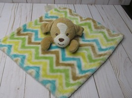 O5 Little Miracles Brown Puppy Dog Lovey Security Blanket Baby Plush Toy... - $18.80