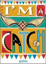 Harry Potter Quidditch I'm A Catch Art Image Refrigerator Magnet NEW UNUSED - $3.99