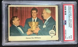 1959 Fleer Ted Williams 78 Honors for Williams PSA 5 EX - $9.85