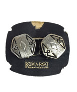 Vintage Kum A Part Snap Cufflinks Sterling Silver Tops with original Card - $57.72