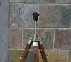 Nautical Decorative Lighting Wooden Adjustable Tripod Floor Desk Christm... - £99.31 GBP