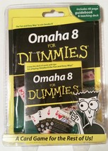 Omaha 8 Poker for Dummies Teaching Deck Playing Cards & Instruction Guid... - $12.47